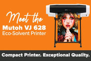 "Mutoh ValueJet 628 Eco-Solvent 24.8"" Large Format Printer"