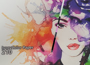 SIHL 3294 IvoryColor Matt Coated Paper 210gsm