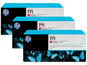 HP 771B DesignJet Ink - 3 Pack