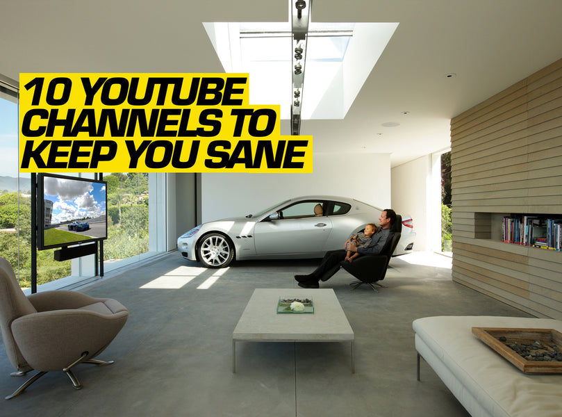 10 Automotive YouTube Channels To Keep You Sane In Lock-Down