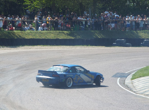 Drift Car on track at Lydden Car Show
