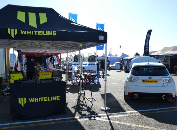 Whiteline Trade Stand at Japfest 2018 Silverstone Circuit