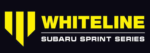 Whiteline Subaru Sprint Series Logo 2018