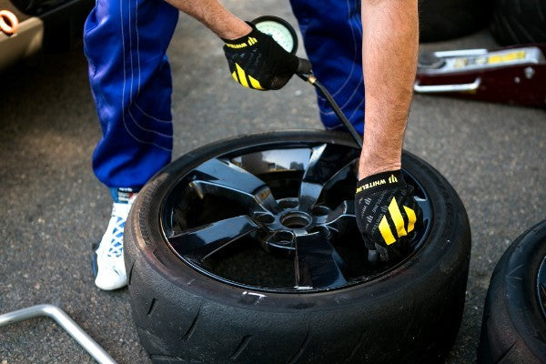 Track day tyre prep