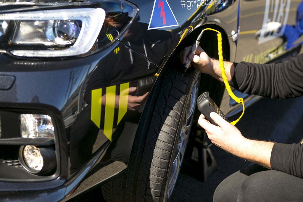 Tyre Probe Temperature Check