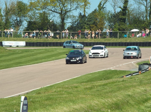 Whiteline Focus ST on track at Lydden Car Show