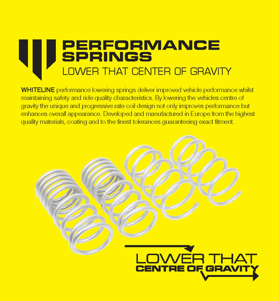 Performance Lowering Springs Suspension Tuning Guide