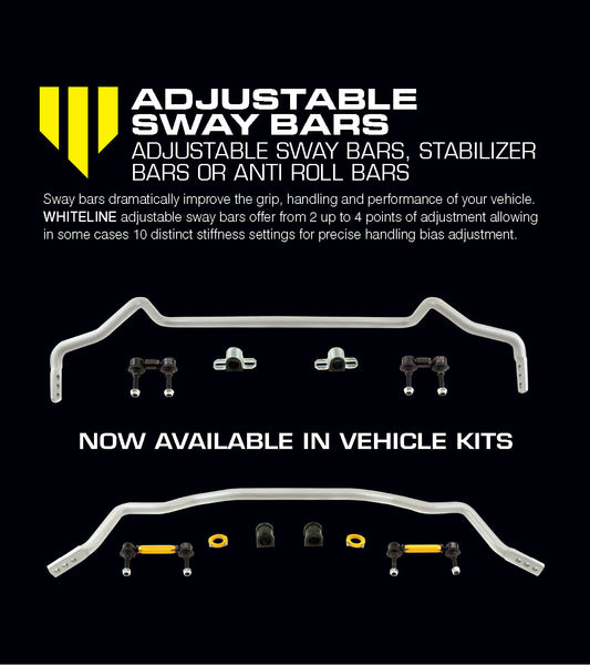 Suspension Tuning Guide - Adjustable Anti-Roll Bars and Heavy Duty Drop Links
