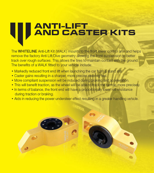 Suspension Tuning Guide - Anti-Lift and Caster Kits