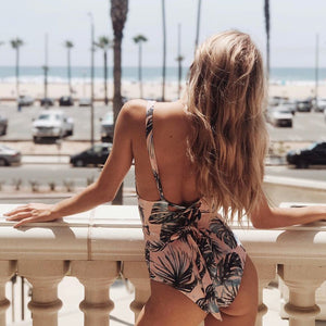 Valencia V Neck Swimsuit - Nymph & Co