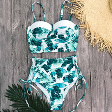 Let's Get Tropical Balconette High Waist Bikini - Nymph & Co