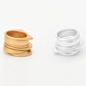 Monica Minimalist Ring Stack - Nymph & Co