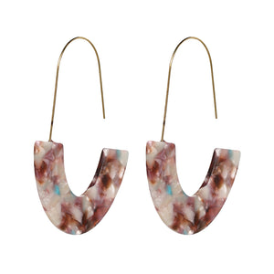 Alia Acrylic Drop Earrings - Nymph & Co