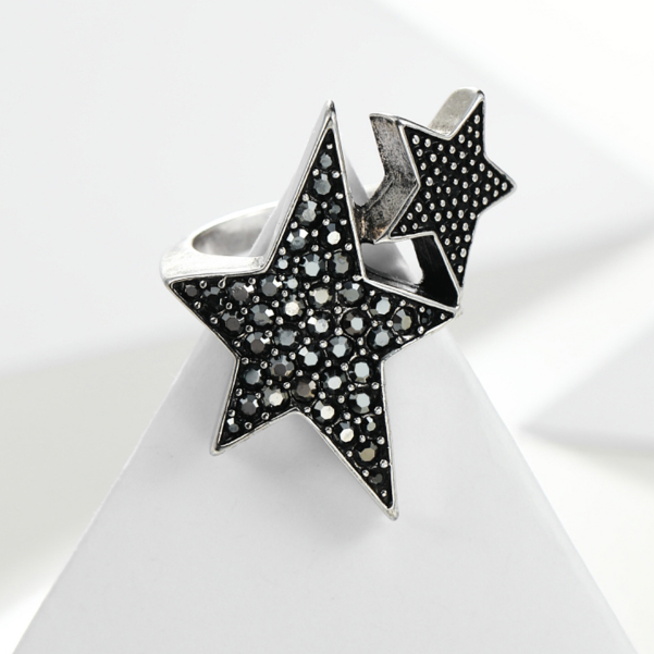 Shining On My Stars Open Ring - Nymph & Co