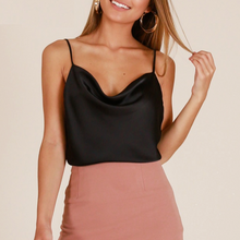 Sienna Satin Top - Nymph & Co