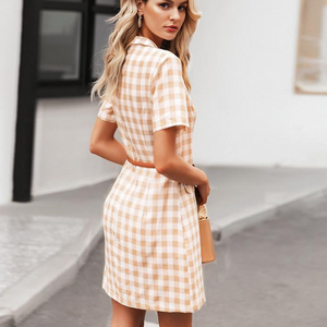 Polly Please Plaid Dress - Nymph & Co