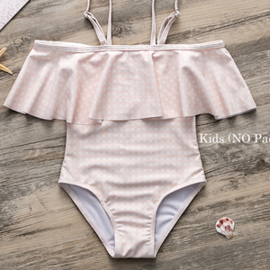 Pink Plaid Mummy & Me Swimsuit - Nymph & Co