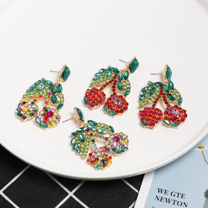 For The Fun Crystal Earrings - Nymph & Co