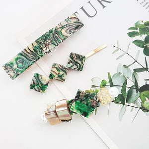 Green With Envy Hair Clip - Nymph & Co