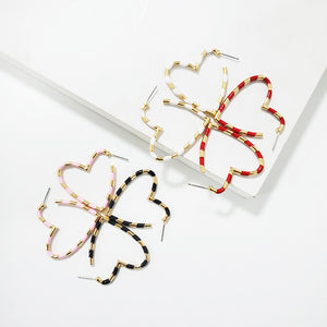 Holly Heart Earrings - Nymph & Co