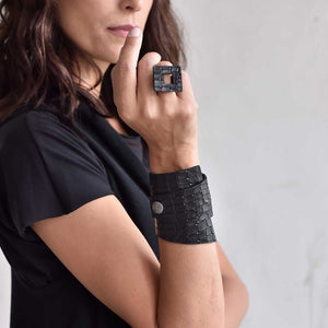 Be Black Leather Jewellery - Nymph & Co