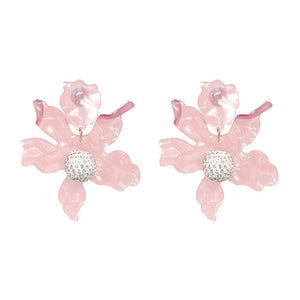 Floral Drop Earrings - Nymph & Co