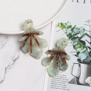 Leaf It To Me Acrylic Earring - Nymph & Co