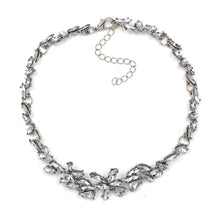Leaf It Crystal Choker - Nymph & Co