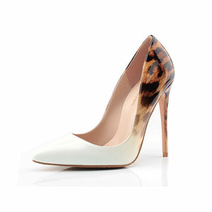 A Hint Of Leopard Pumps - Nymph & Co