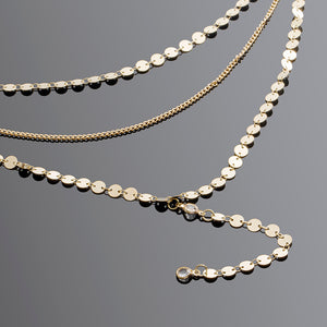 Long Chain Choker Necklace - Nymph & Co