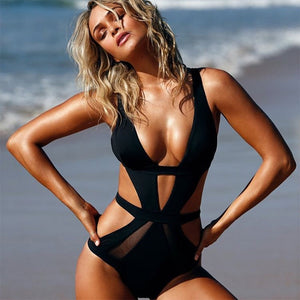 The Bridget Cut Out Swimsuit - Nymph & Co
