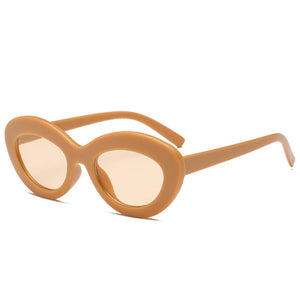 Orion Oval Retro Sunglasses - Nymph & Co