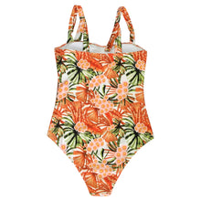 Tan Tan Tangerine Floral Swimsuit - Nymph & Co