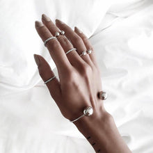 Brie Ball Minimalist Ring Set - Nymph & Co