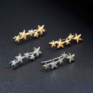 Reach For The Stars Ear Climber - Nymph & Co