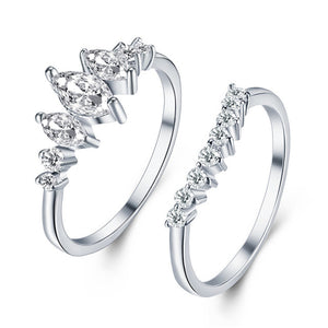 Stack It Crystal Rings - Nymph & Co