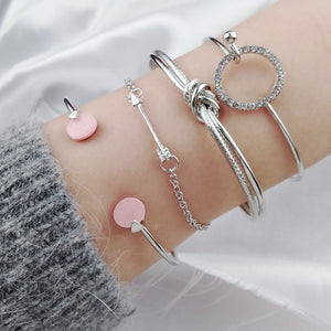 Stay Chic Bangle Set - Nymph & Co