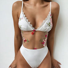 Flowers for Fifi Mesh Swimsuit - Nymph & Co