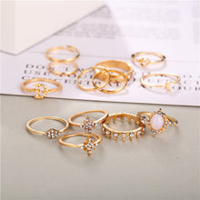 Moon & The Stars Ring Set - Nymph & Co