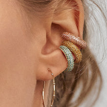 Catherine Crystal Earrings & Cuff - Nymph & Co