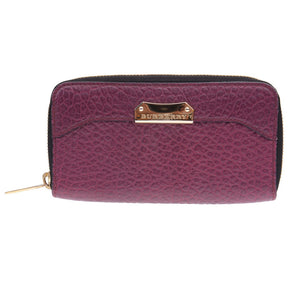 Purple Grained Wallet