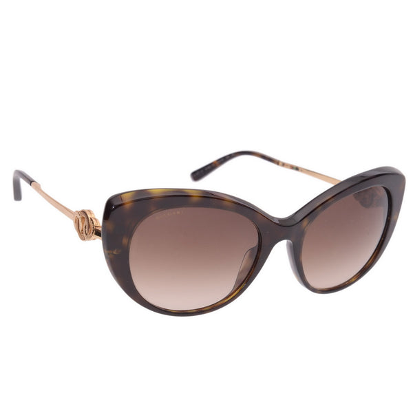 Brown Polarised Cat's Eye Sunglasses