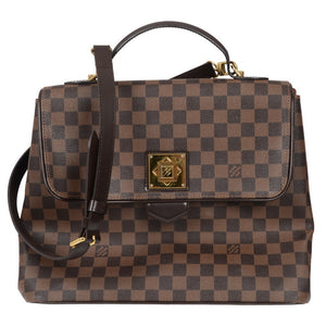 Bergamo Damier Ebene Canvas GM Hand Bag