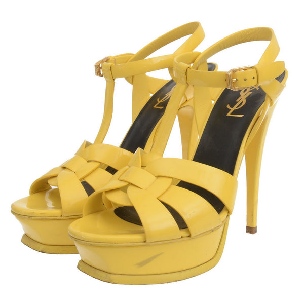 Yellow Patent Leather Tributes