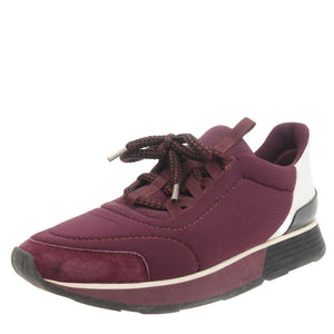 Purple Canvas Miles Sneakers