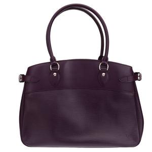 Purple Epi Leather Passy GM Bag