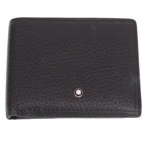 Black Grained Cash Wallet