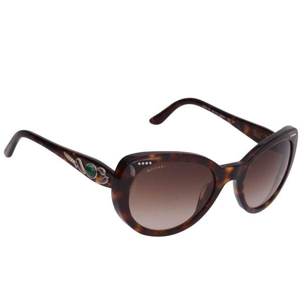 Brown Round Framed Sunnies