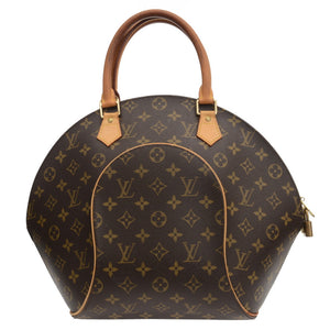 Ellipse Brown Monogram Hand Bag
