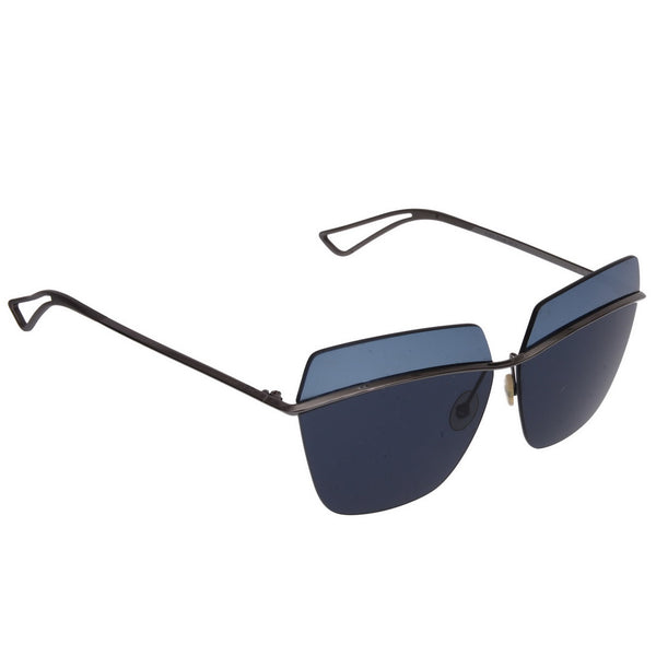 Metallic Blue Sunglasses